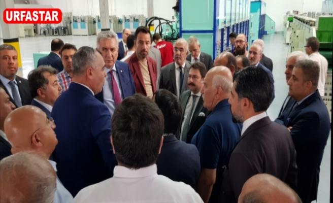İstanbul Heyeti Urfa OSB'ye çıkarma yaptı...
