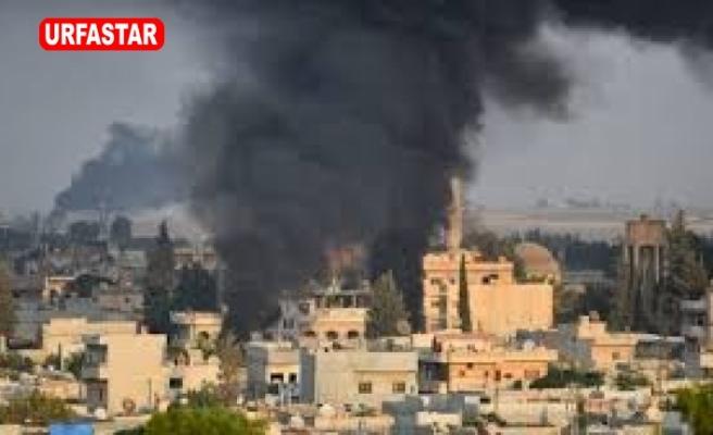 Mehmetçik'ten Teröristlere Misilleme  Tel Abyad yoğun bombardıman altında