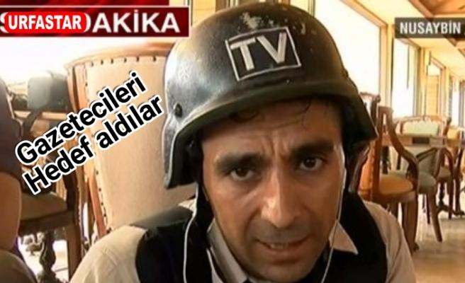 Teröristler canlı yayın yapan gazetecilere ateş açtı