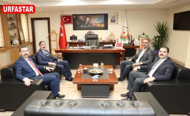 3 merkez ilçe Belediye Başkanları Kırıkçı'yı ziyaret etti