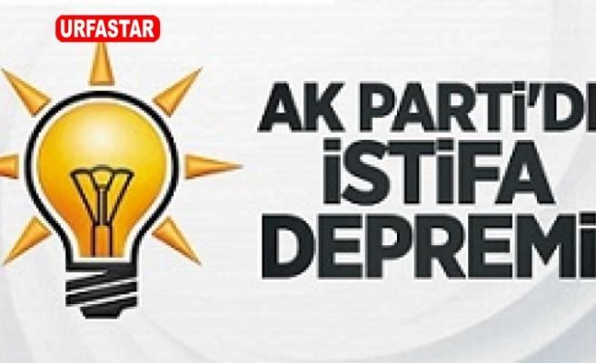 AK Parti'de istifa depremi devam ediyor