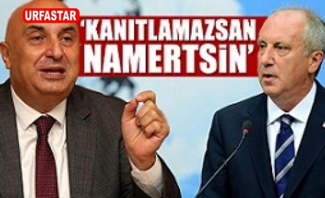 CHP'li Özkoç'tan  İnce'ye sert sözler: