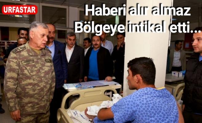 Kara Kuvvetleri Komutanı Urfa'da...