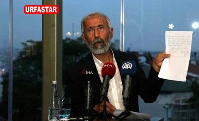 Öcalan'ın mektubunu okumuştu...