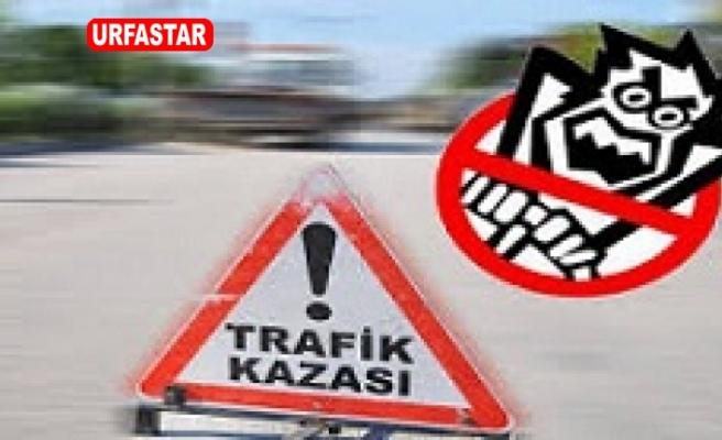 Suruç'ta trafik kazası yaralılar var