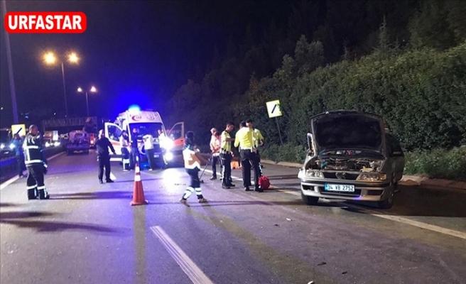 Trafik Kazası 3 Ölü 7 Yaralı