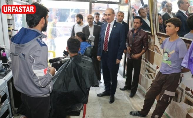 Yalçınkaya'dan Tel Abyad'a ziyaret
