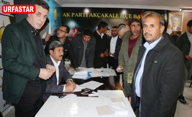 Akçakale'de delege seçimi yapıldı