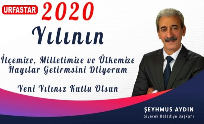 Başkan Aydın'da mesaj yayımladı