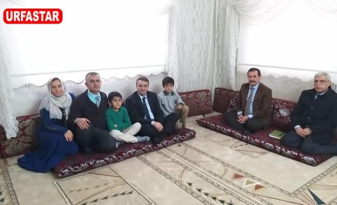 Esen, Şehit ailelerini ziyaret etti