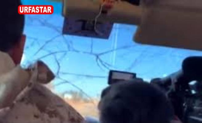 Libya'da, Habertürk TV ekibinin bulunduğu araca füze atıldı