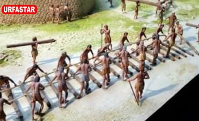 Raylı sistem yüzyıllar önce Göbeklitepe'de yapıldı!