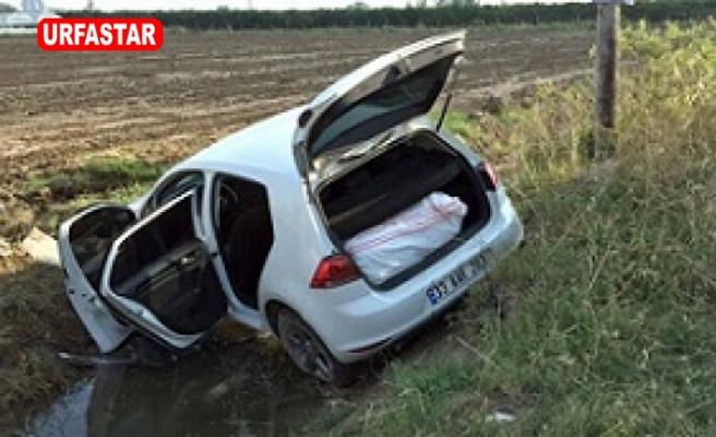 Şanlıurfa'da polisten kaçan arabada uyuşturucu bulundu