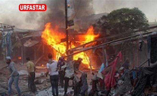 Suriye rejimi pazar yerini hedef aldı: 11 ölü, 20 yaralı