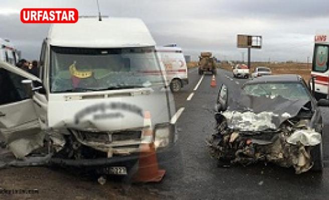 Suruç'ta kaza 6 yaralı!