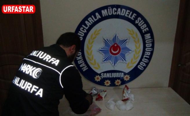 Urfa'da kokain operasyonu