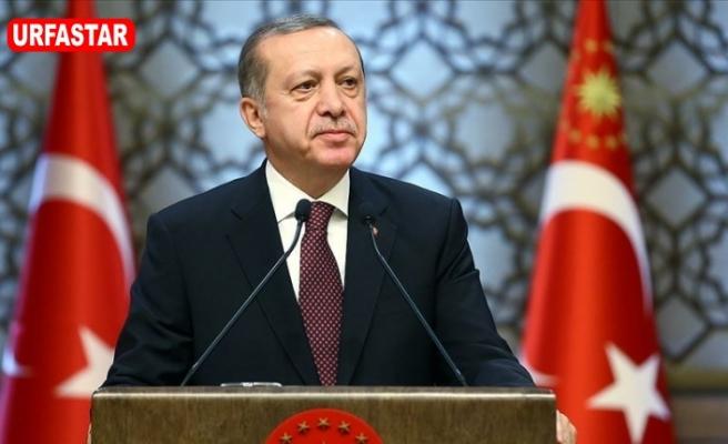Erdoğan da kutladı...