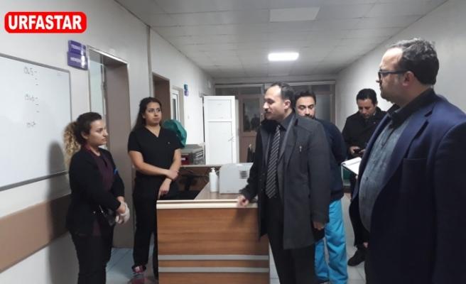 Erkuş hastane teftişlerine devam ediyor