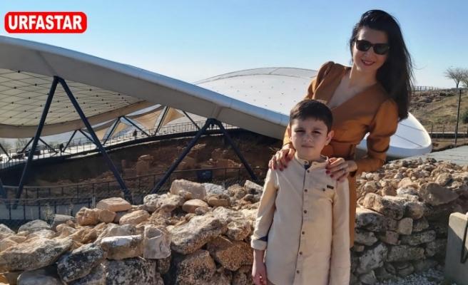 Göbeklitepe hayranlığı onları Urfa'ya getirdi