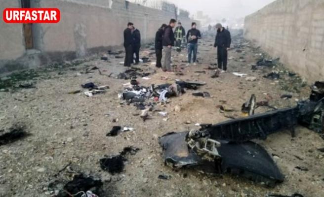 İran'da 180 kişilik uçak düştü kurtulan olmadı