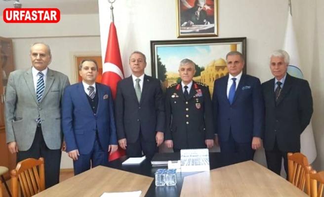 Jardarma Genel Komutanı ŞURVAK'ı ziyaret etti
