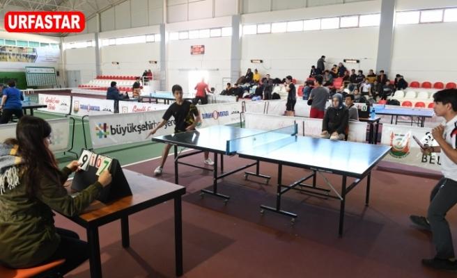 Masa Tenisi Turnuvasına Yoğun İlgi