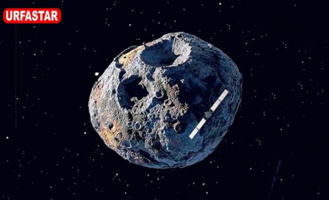 Uzayda da bulundu
