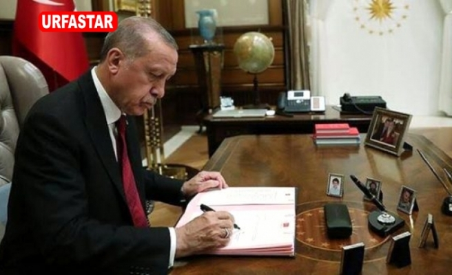 Erdoğan'nın imzasıyla kritik göreve o isim atandı