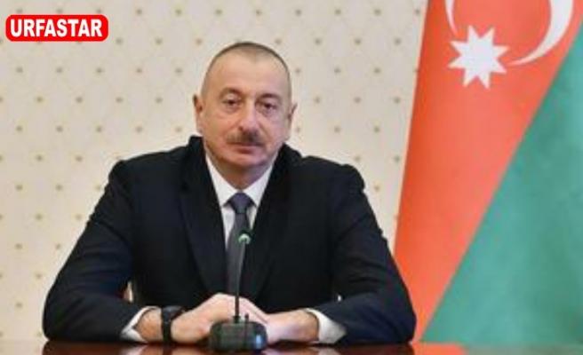 Türkiye Aliyev'i tebrik etti
