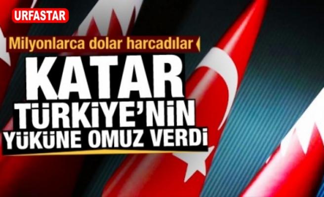 Türkiye'nin arap tek dostu Katar...