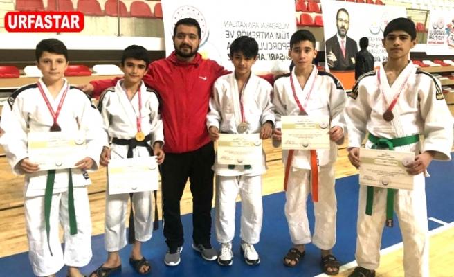 Urfalı Judoculardan büyük başarı...