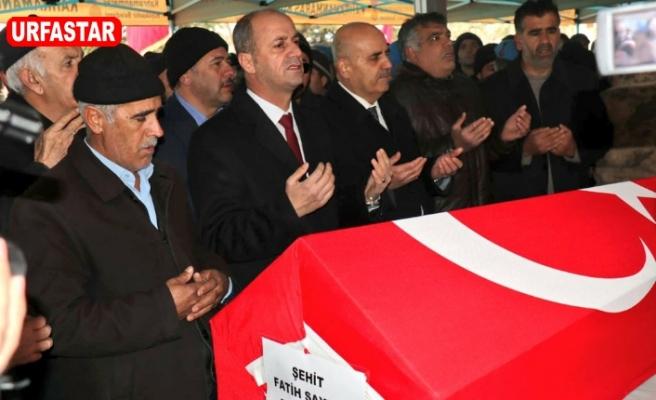 Yavuz Maraş'ta Şehit cenazesine katıldı