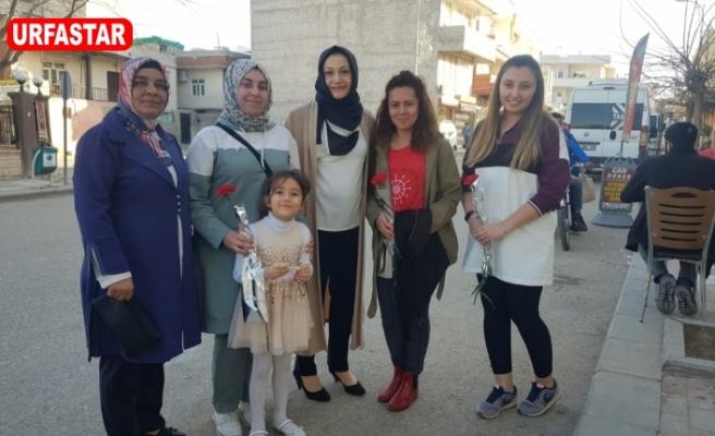 Başkan Aksoy'un eşinden anlamlı ziyaretler...
