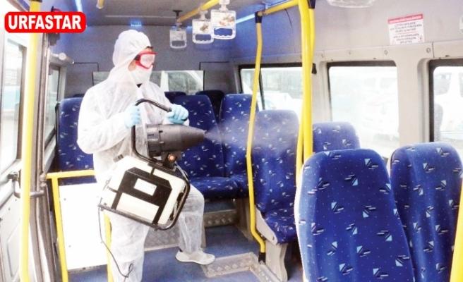Büyükşehir araçlar ücretsiz dezenfekte edilecek