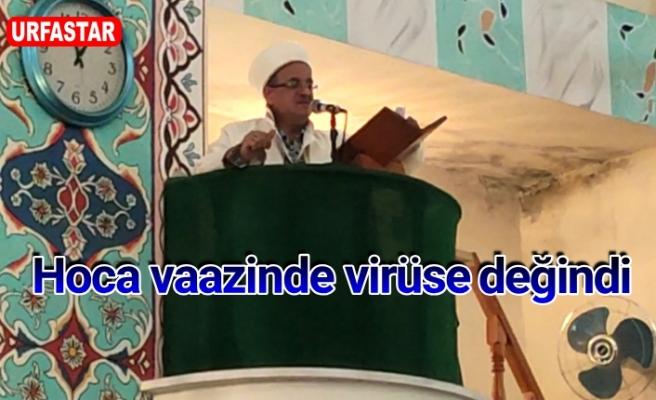 Cuma namazında cemaat uyarıldı