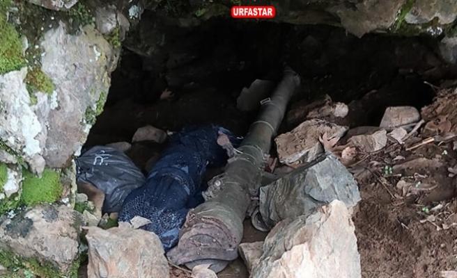 Hakkari'de PKK'nın füzesi ve silahları ele geçirildi