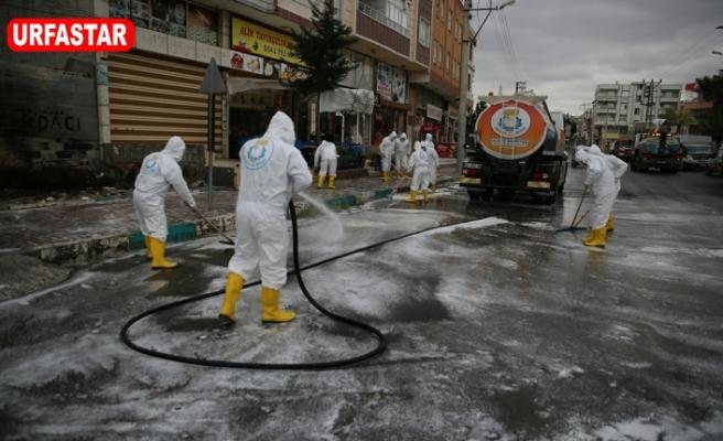 Haliliye'de topyekün temizlik yapılıyor