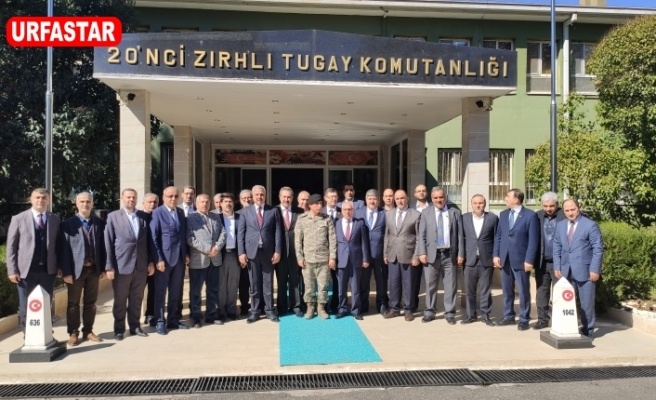 Urfa'da ki STK'lar Türk Bayrağı altında toplandı...