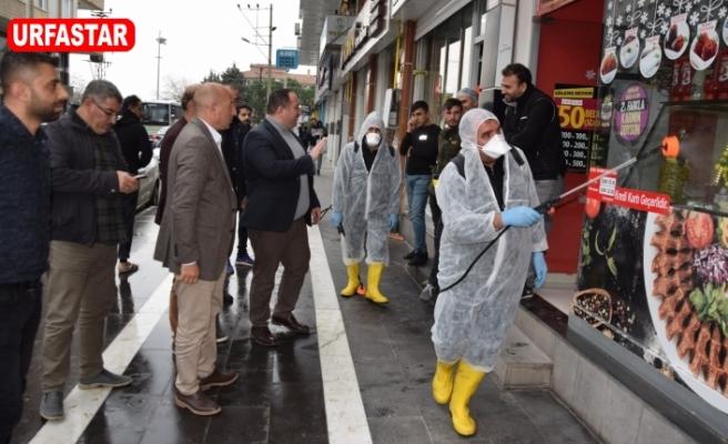 Viranşehir ilçesinde çalışmalar sürüyor