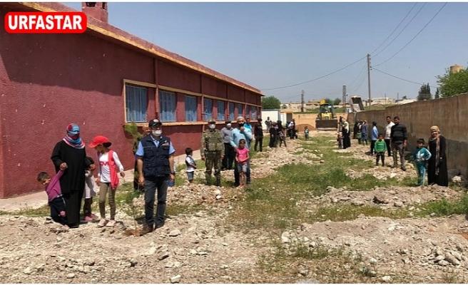 Barış Pınarı bölgesinde çalışmalar sürüyor