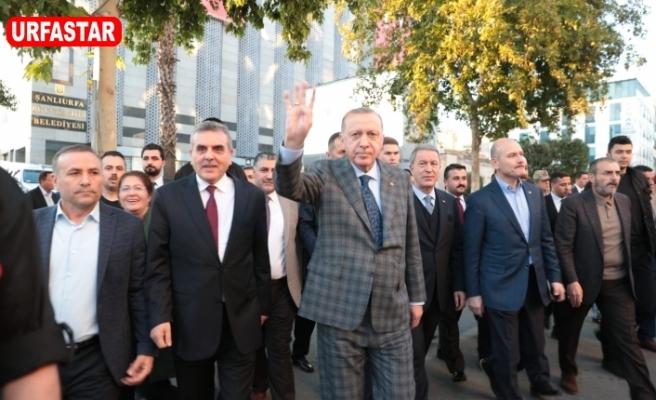Erdoğan'dan Beyazgül'e mektup