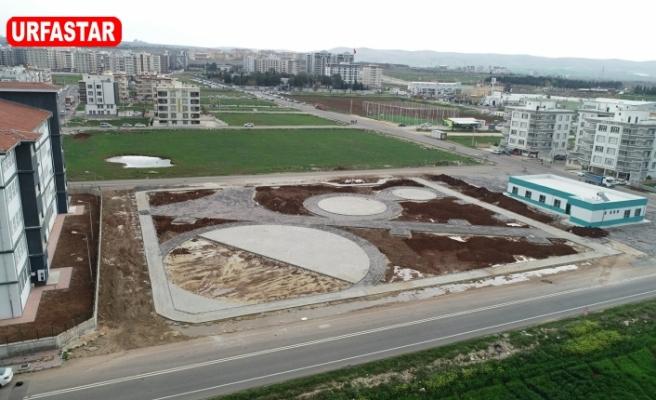 Haliliye'de bir park daha hizmete giriyor