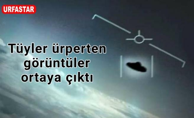 Ufo gerçekten var mı? İşte o görüntüler