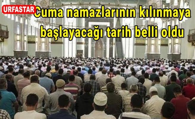 Camilerde cuma namazı ne zaman kılınacak?
