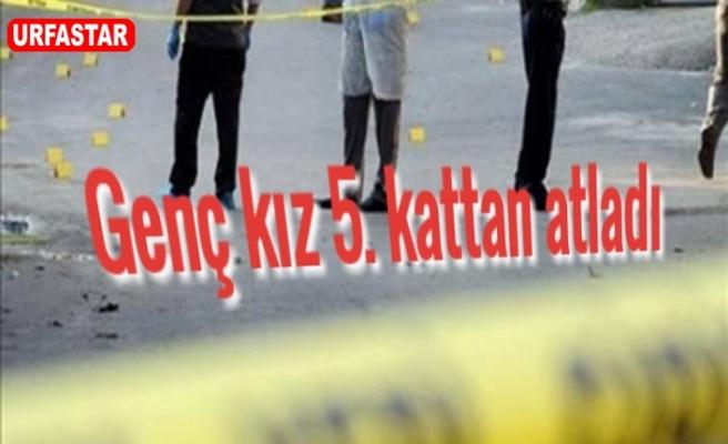 Karaköprü'de şok intihar!