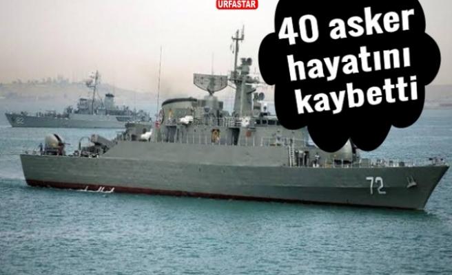 Savaş gemisi yanlışlıkla vuruldu!