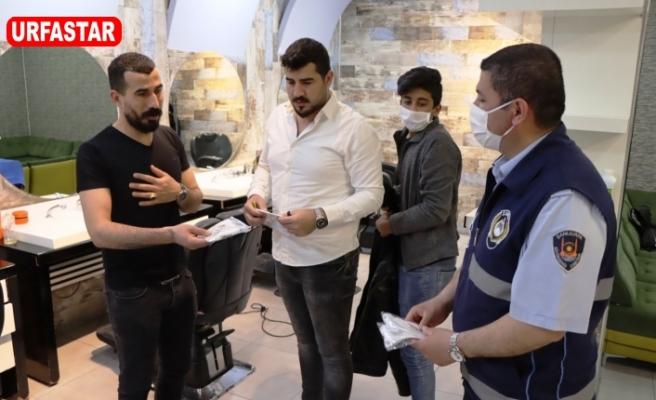 URFA BŞB ekipleri kuralları hatırlatıp uyarılarda bulundu