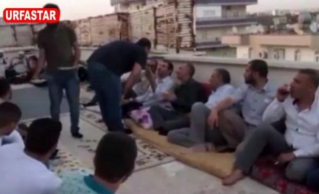 Urfa'da kaçak taziye yaptılar