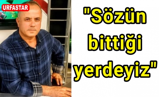 Urfaspor Kulüp Başkanı'ndan flaş açıklama...