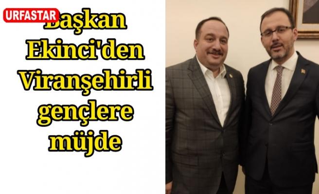 Viranşehir'e dev yatırım...
